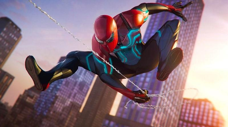 Spider-Man PS4 - Velocity Suit