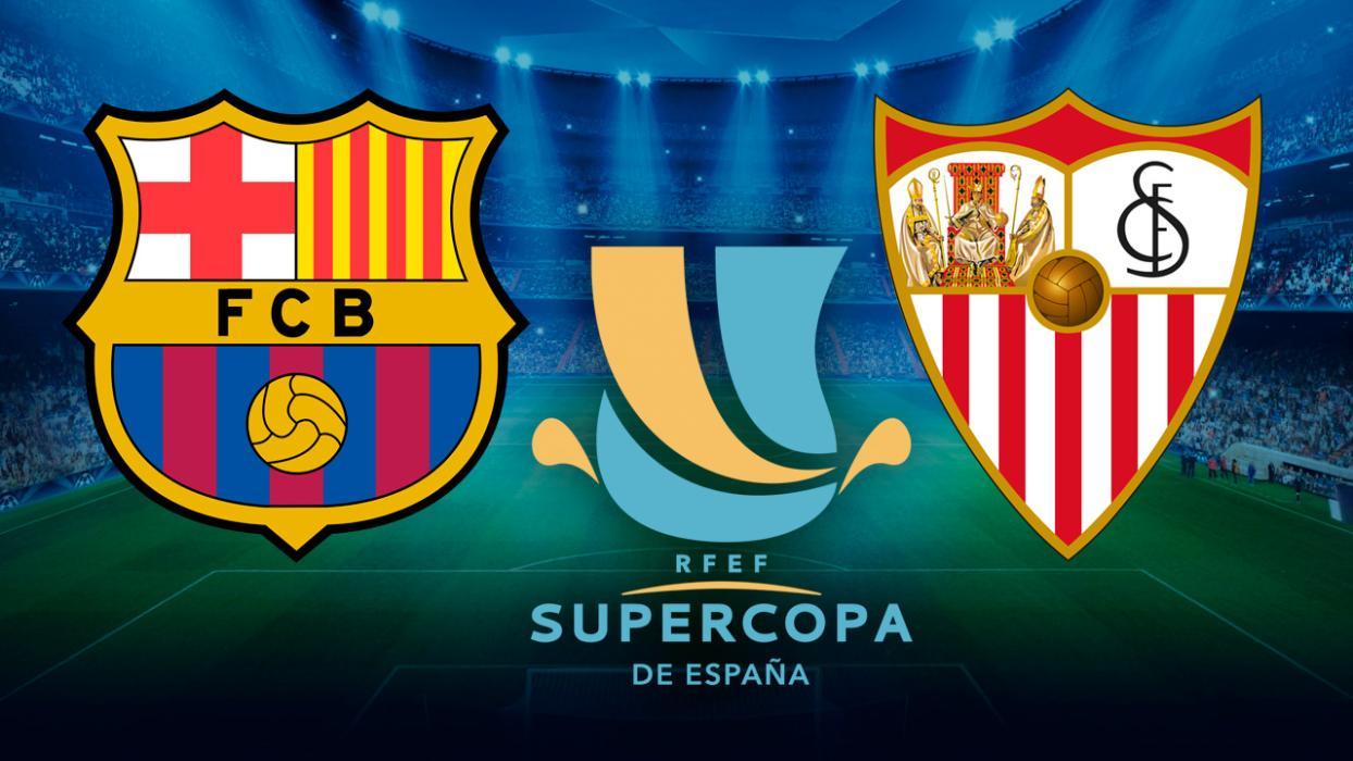 Supercopa España 2018 Barcelona Sevilla