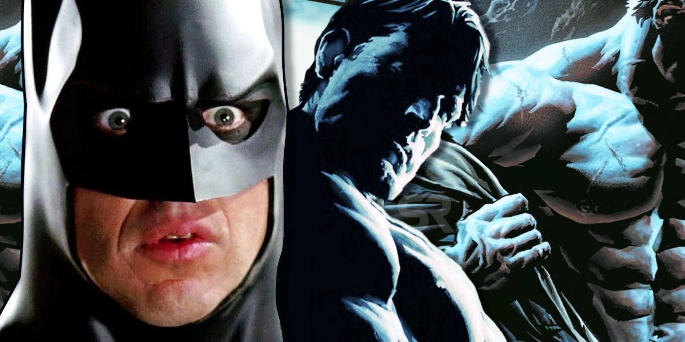 Batman tiene un desnudo integral en los cómics
