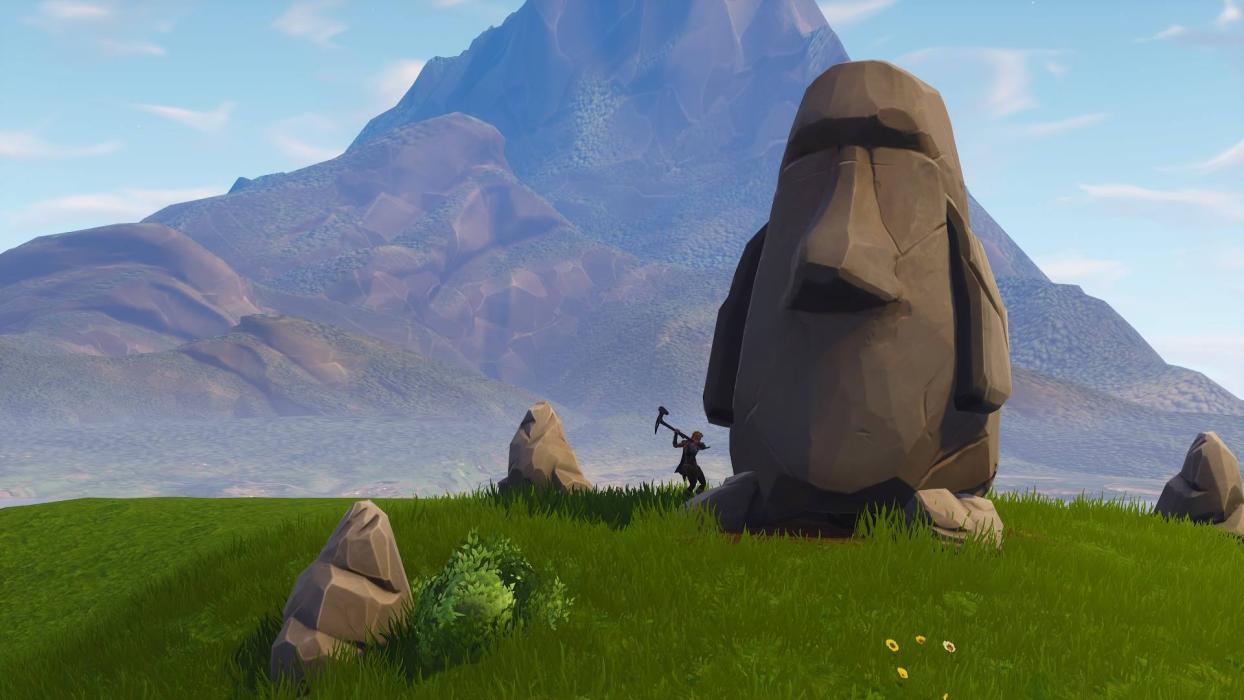 Fortnite cabezas de piedra