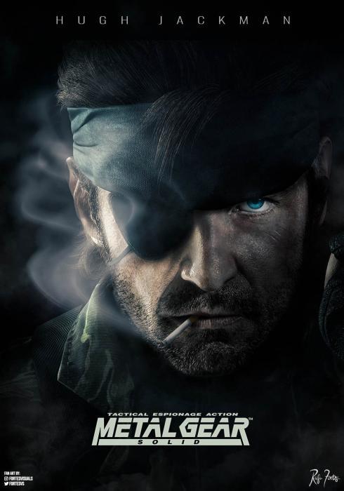 Hugh Jackman en Metal Gear Solid