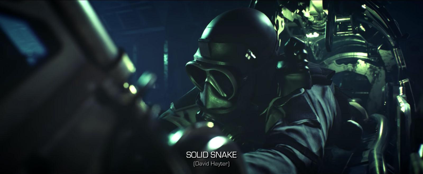 Metal Gear Solid intro remake