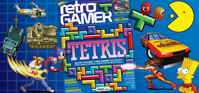 Retro Gamer 25 ya está a la venta: Tetris, Daytona USA, 30