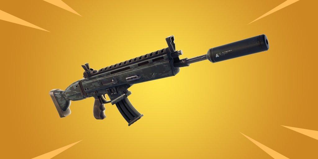 rifle de asalto fortnite