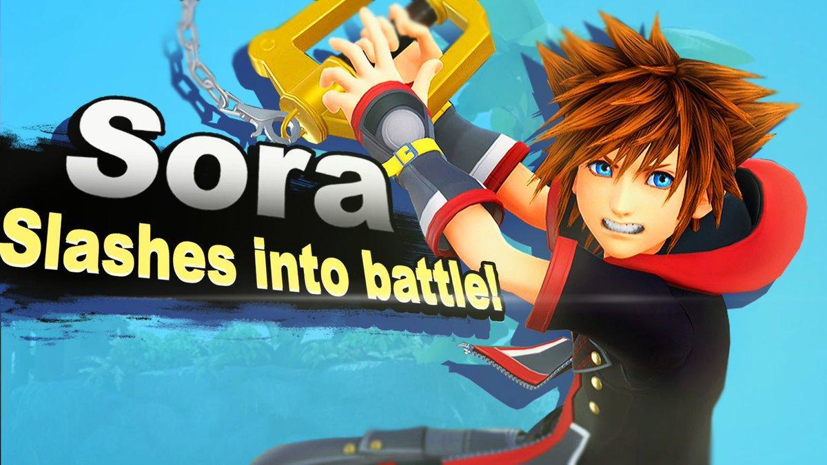 Super Smash Bros Sora
