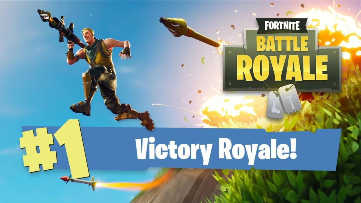 Victory Royale Fortnite