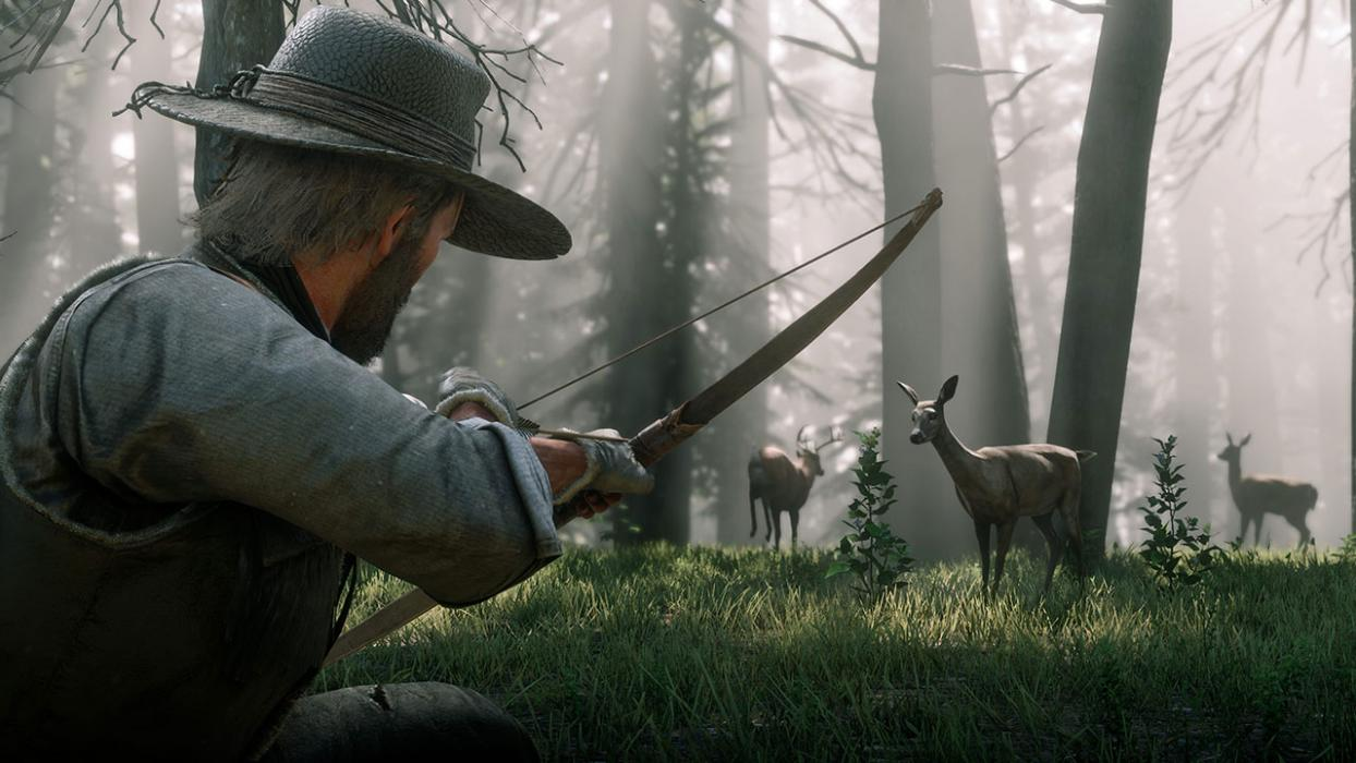 Animales legendarios Red Dead Redemption 2