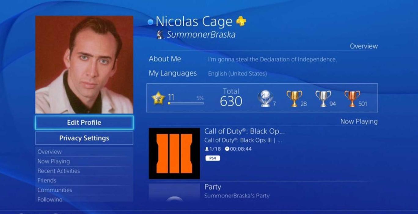 Cambiar nombre usuario PS4 PS3