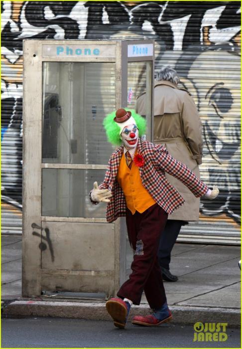 Joaquin Phoenix en el rodaje de Joker