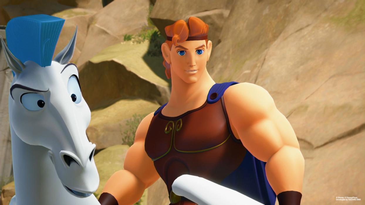 Kingdom Hearts 3 Coliseo del Olimpo