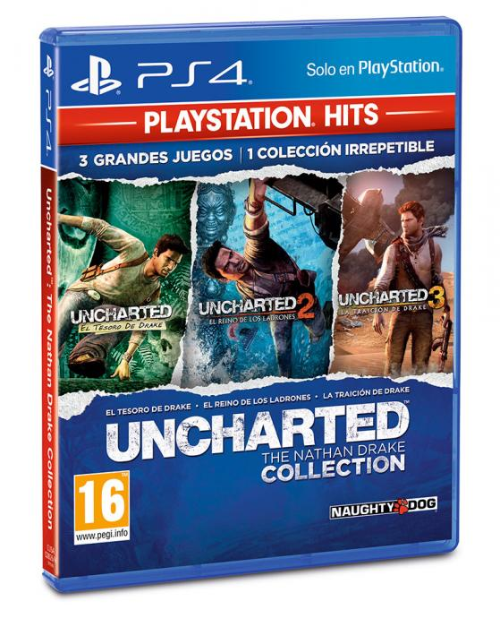 PlayStation Hits - Uncharted The Nathan Drake Collection