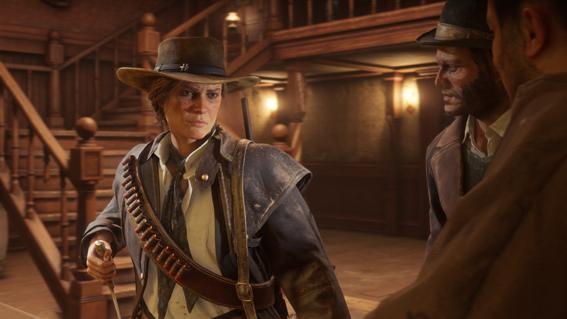 El Mejor Personaje Femenino Del Ano Esta En Red Dead Redemption 2