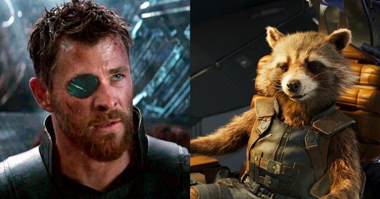 Thor y Rocket