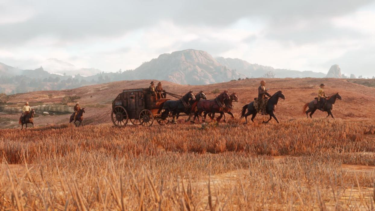 Asaltos a diligencias Red Dead Redemption 2
