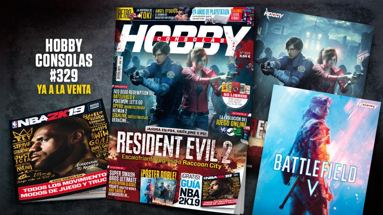 Hobby Consolas 329 A La Venta Con Posters De Resident Evil 2 Y