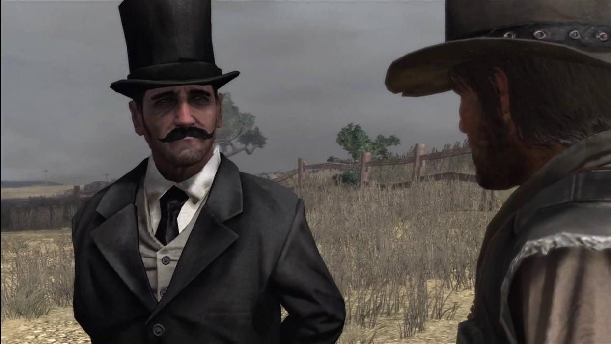 Red Dead Redemption 2 Hombre Misterioso