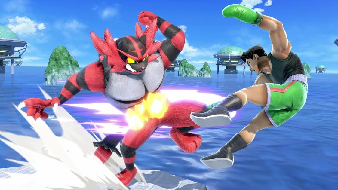 Ken e Incineroar en Super Smash Bros. Ultimate