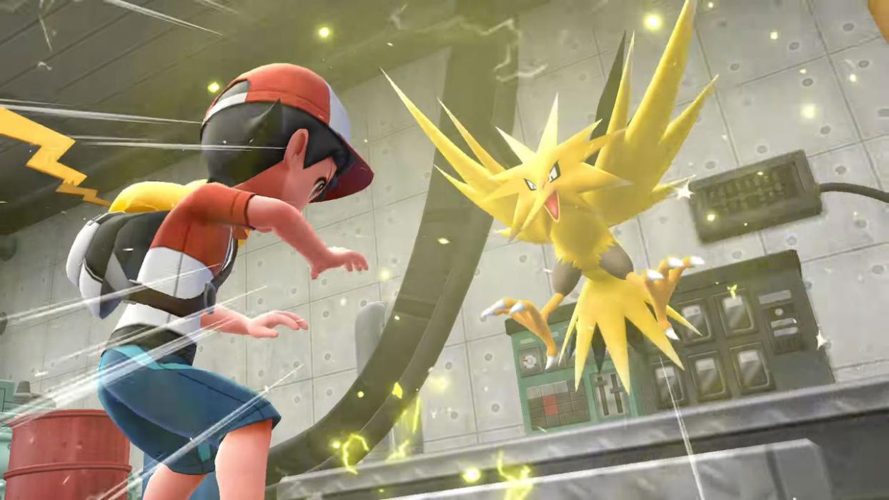Legendarios Pokémon Let's Go