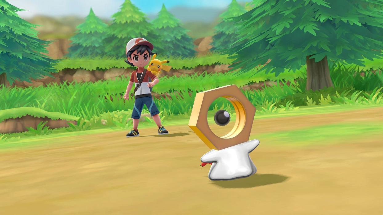 Meltan Pokémon Let's Go