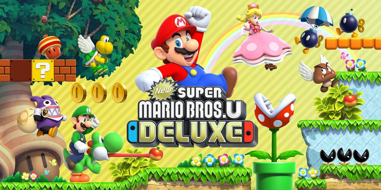 Analisis De New Super Mario Bros U Deluxe Para Nintendo Switch