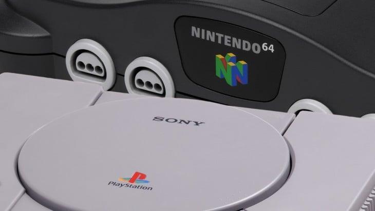 PlayStation Nintendo 64
