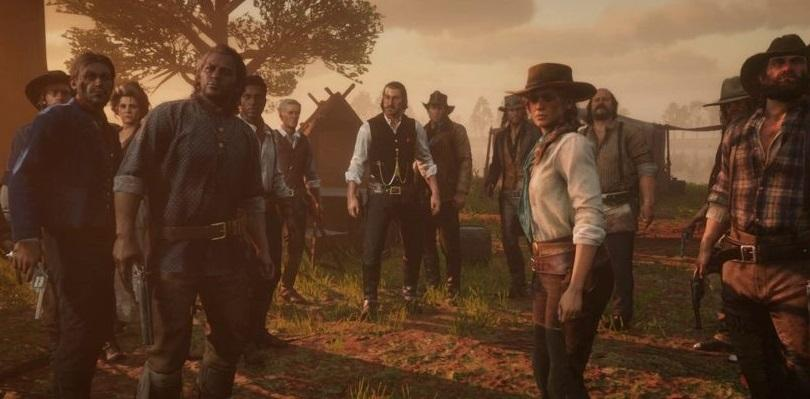 Red Dead Redemption 2 - Campamento