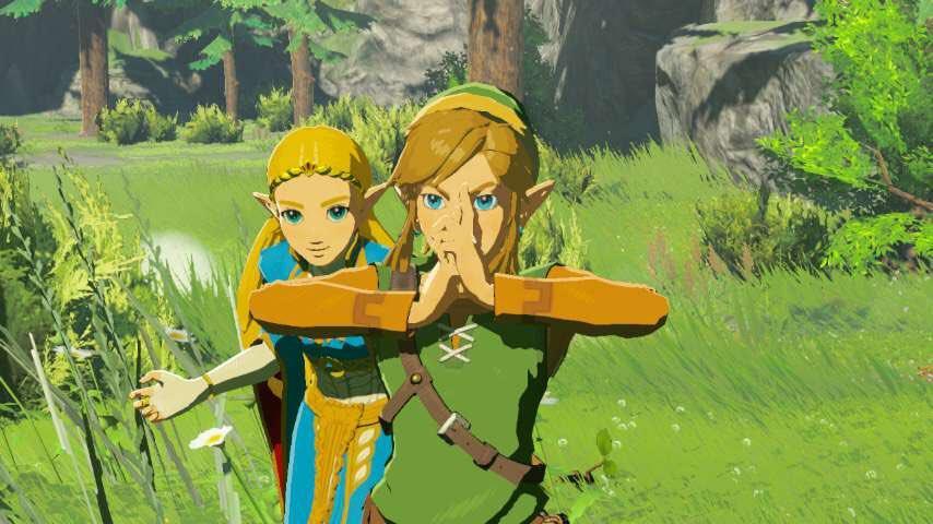 Zelda Breath of the Wild cronología