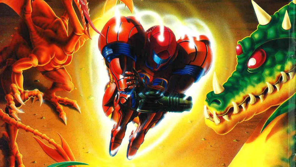 Super Metroid easter egg