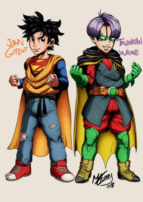 Dragon Ball y DC Comics