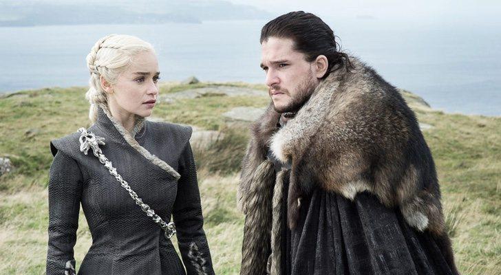 Juego de Tronos Daenerys y Jon