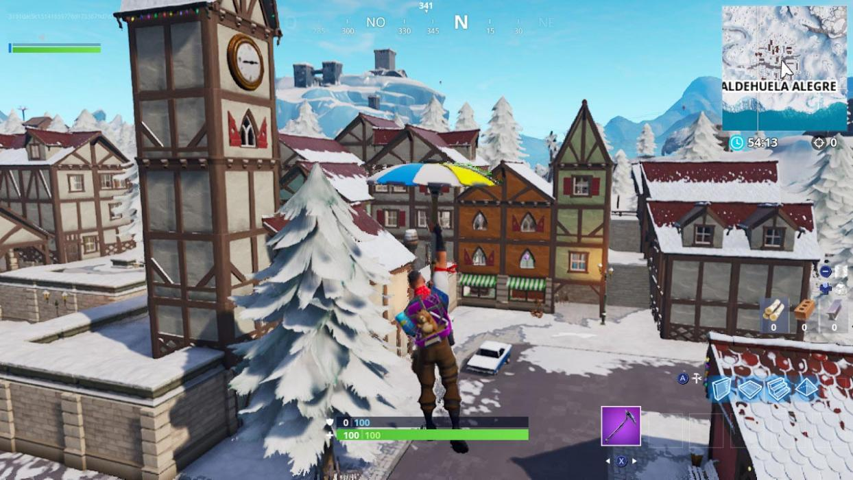 Nevada Semana 4 Fortnite Temporada 7