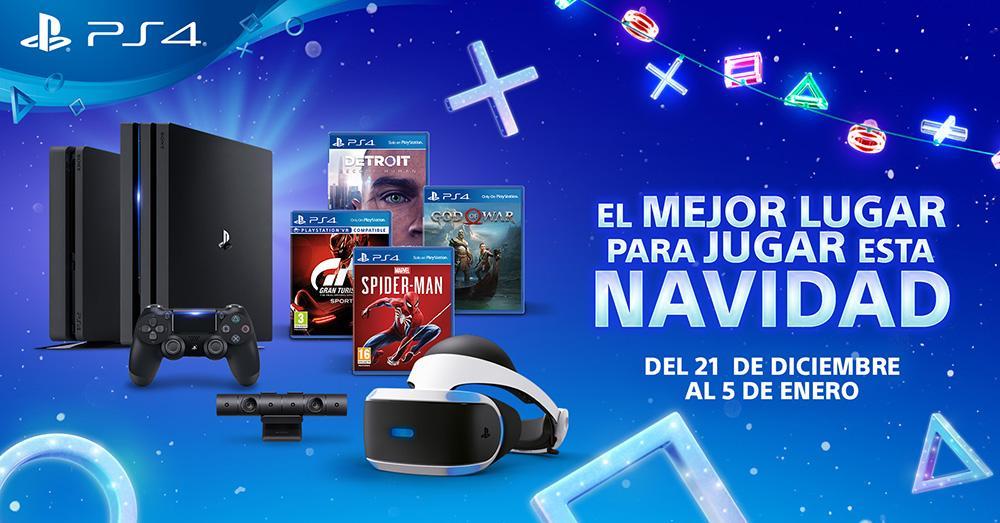 PS4 Rebajas de Navidad