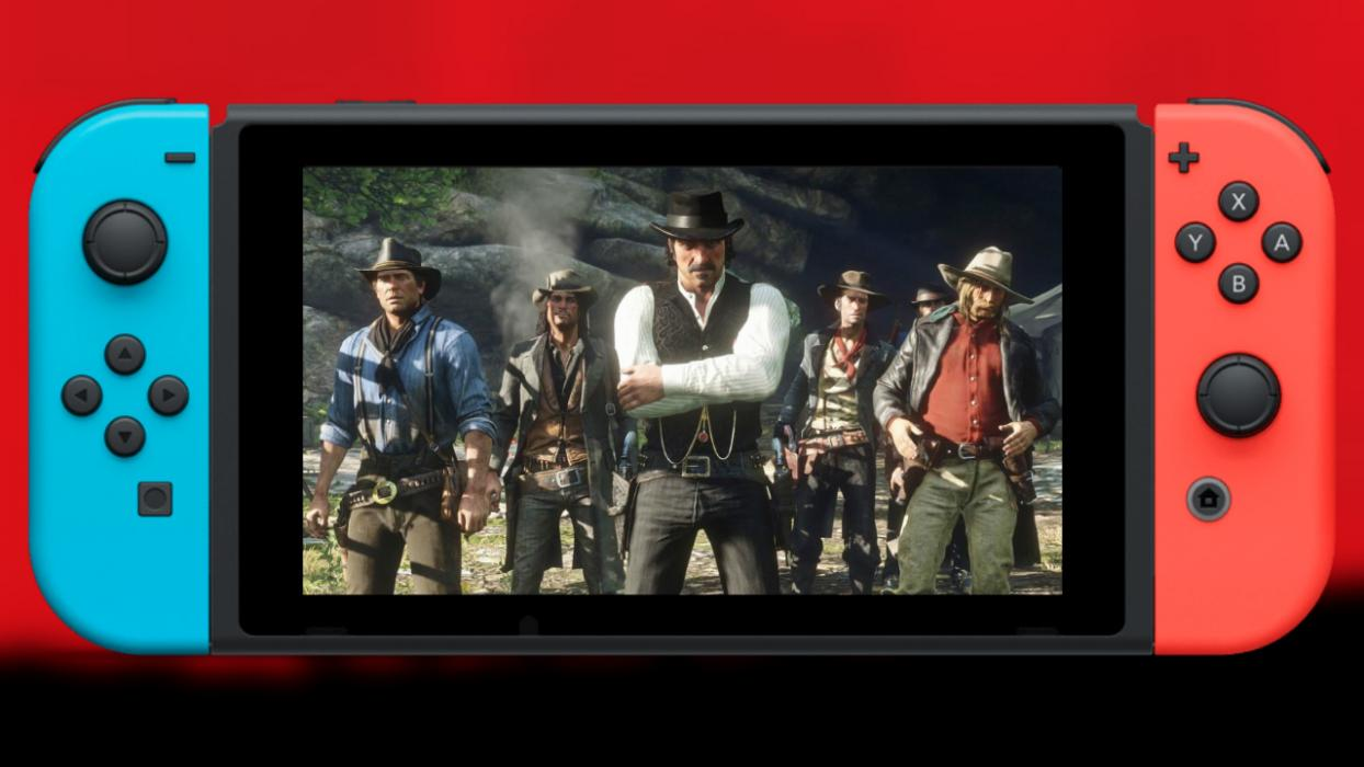Red Dead redemption 2 Nintendo Swtch