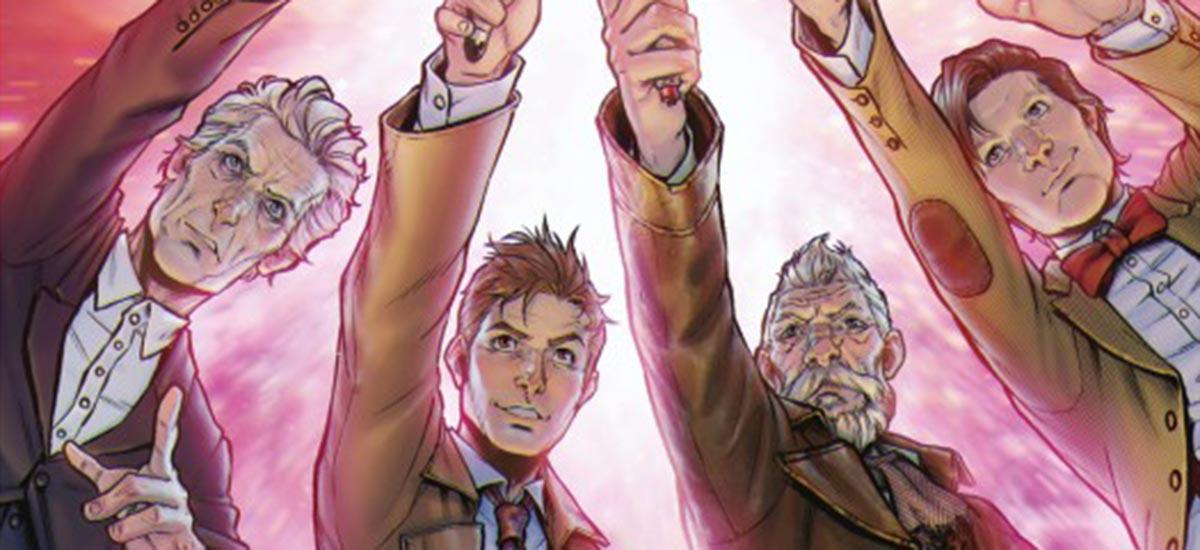 Reseña de Doctor Who: Cuatro Doctores