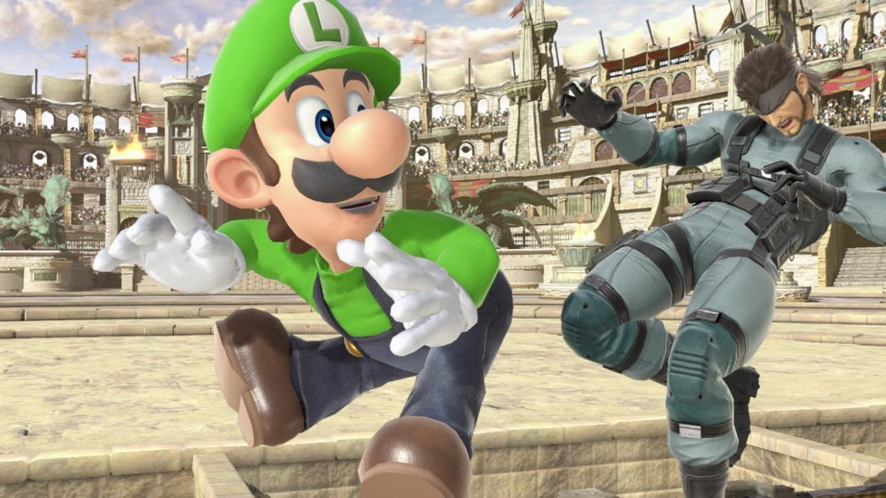 Super Smash Bros. Ultimate - Luigi