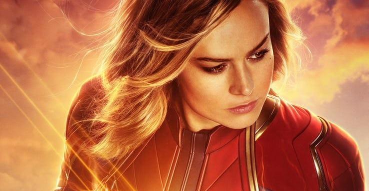 Capitana Marvel estrena nuevos pósters