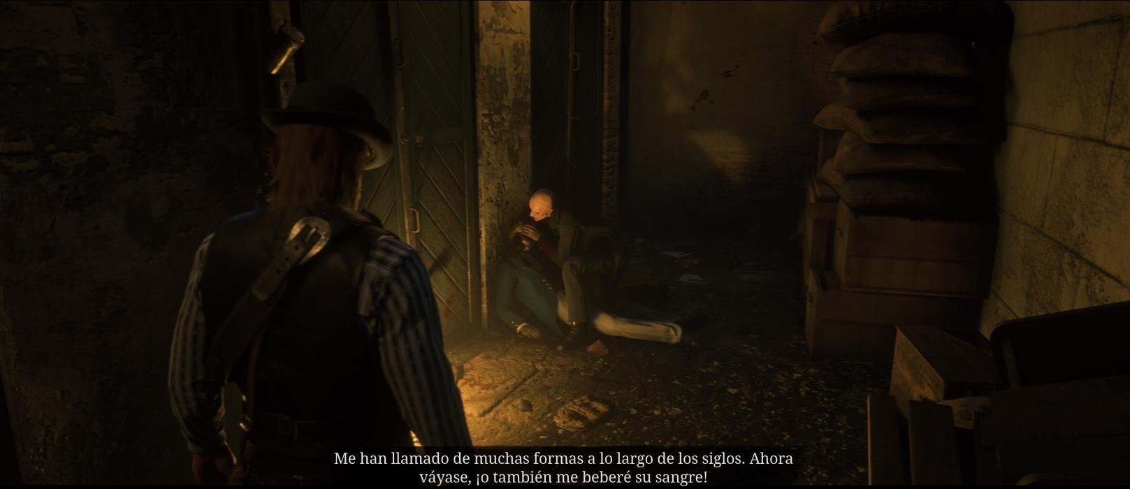 Vampiro Red Dead Redemption 2