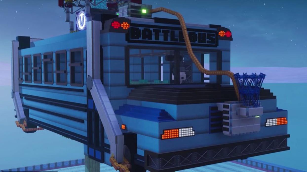 Fortnite bus creativo
