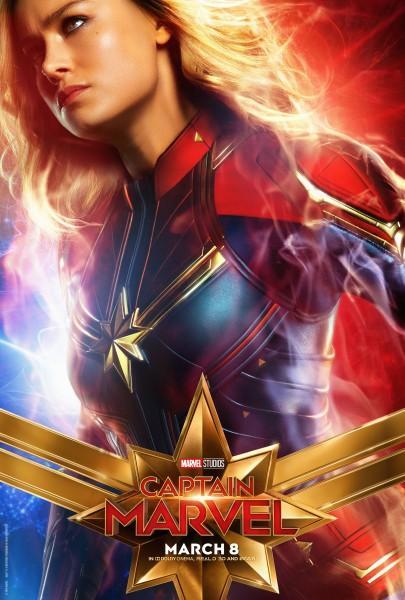 Capitana Marvel - Brie Larson