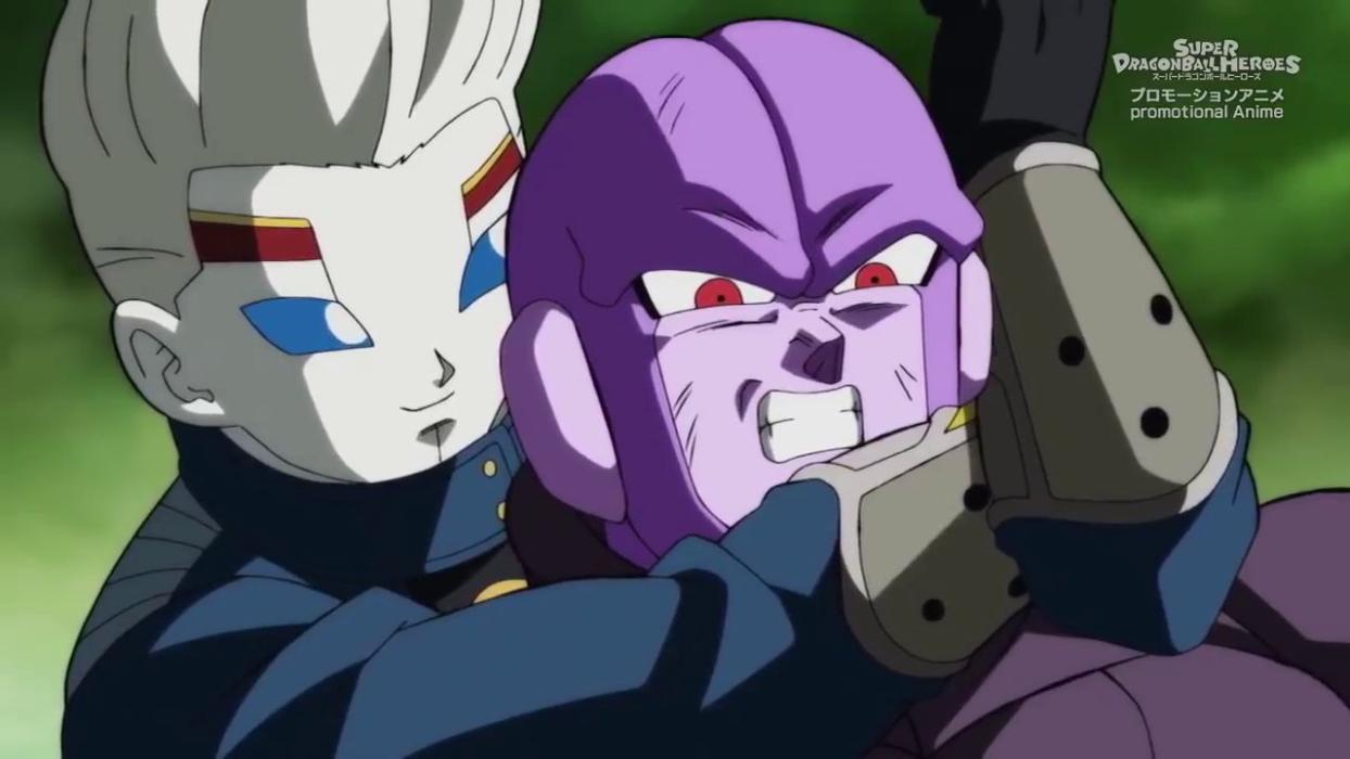 Super Dragon Ball Heroes ver episodio 7 nueva saga