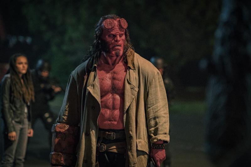 Nuevas imágenes Hellboy 2019