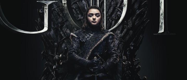Juego de Tronos - Arya en el Trono de Hierro