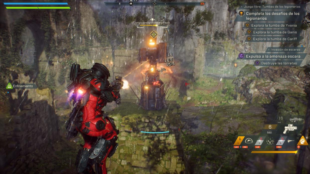 Anthem PS4 Xbox One PC
