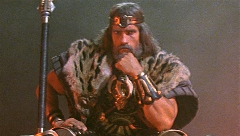 El viejo Conan - Arnold Schwarzenegger quiere hacer una película del cimmerio