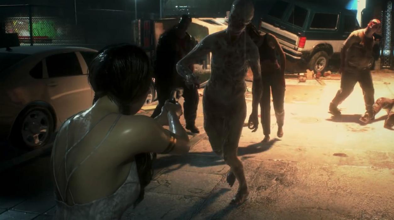 Fugitiva DLC Ghost Survivor Resident Evil 2
