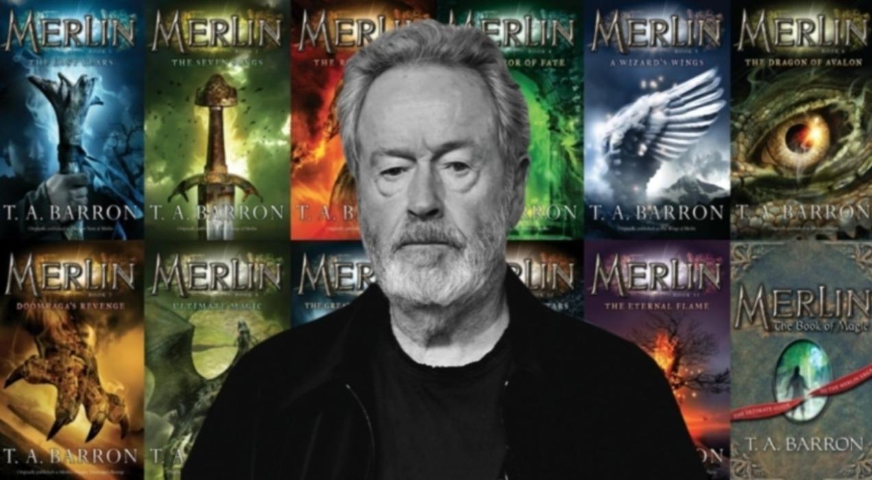 Ridley Scott ya tiene en marcha sus películas de Merlin Saga