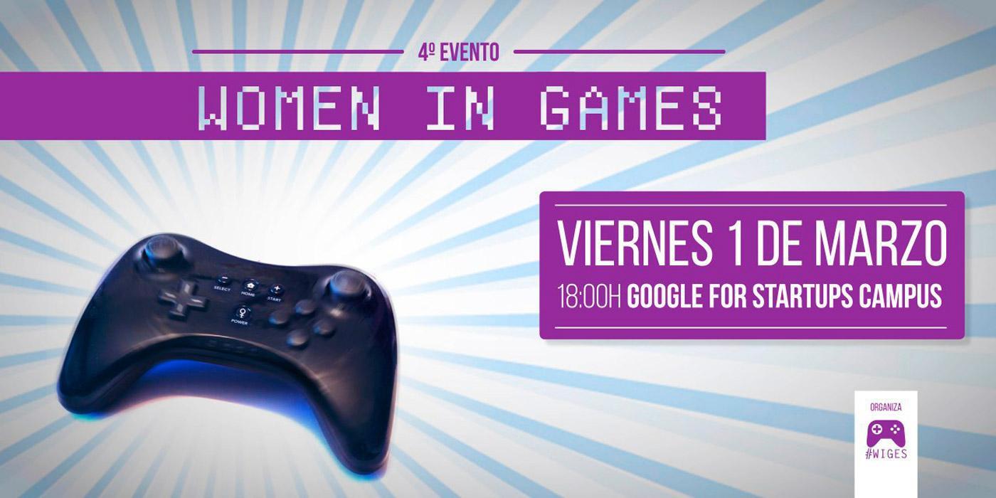 Cuarto evento Women in Games