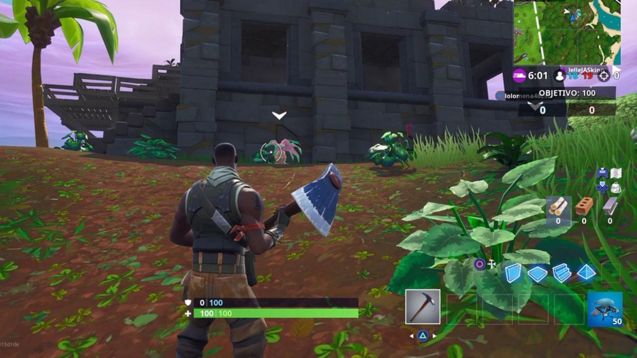 Campamentos piratas en Fortnite