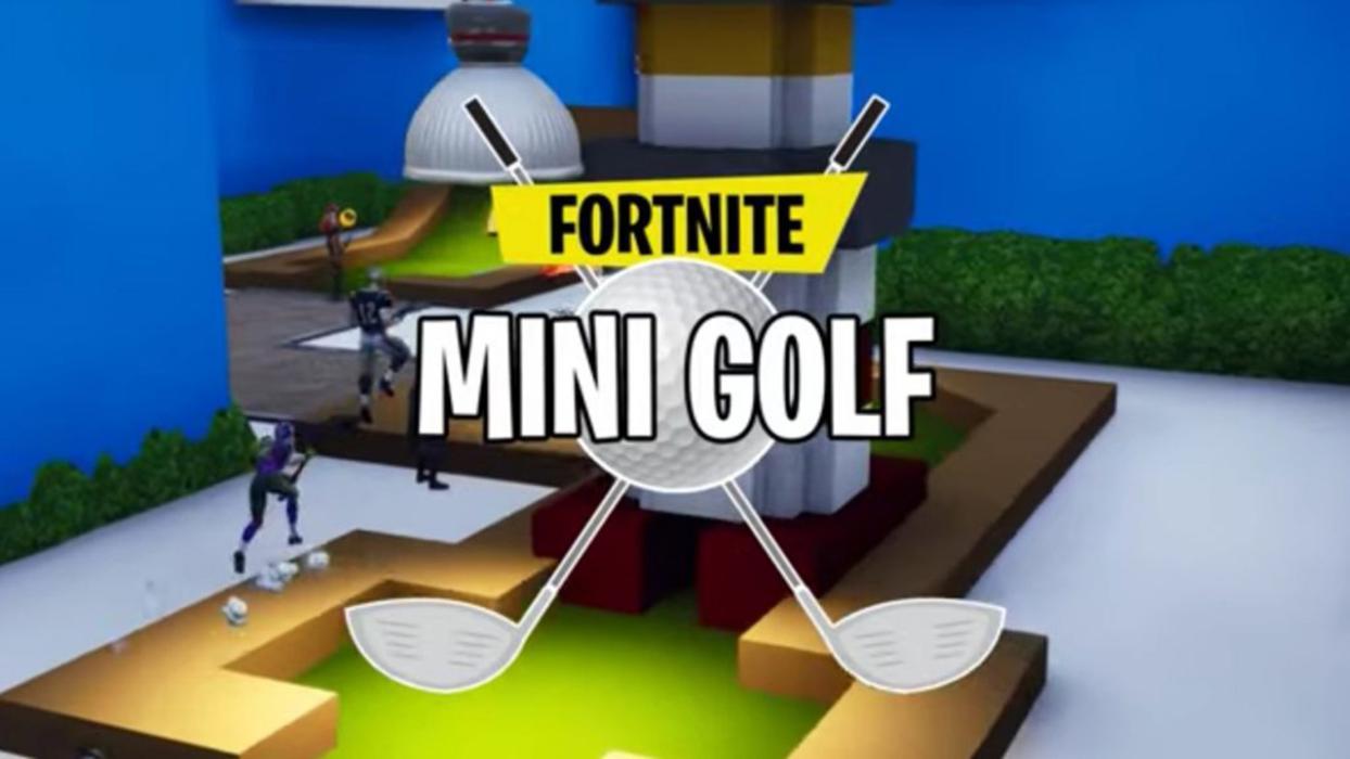 Minigolf Fortnite