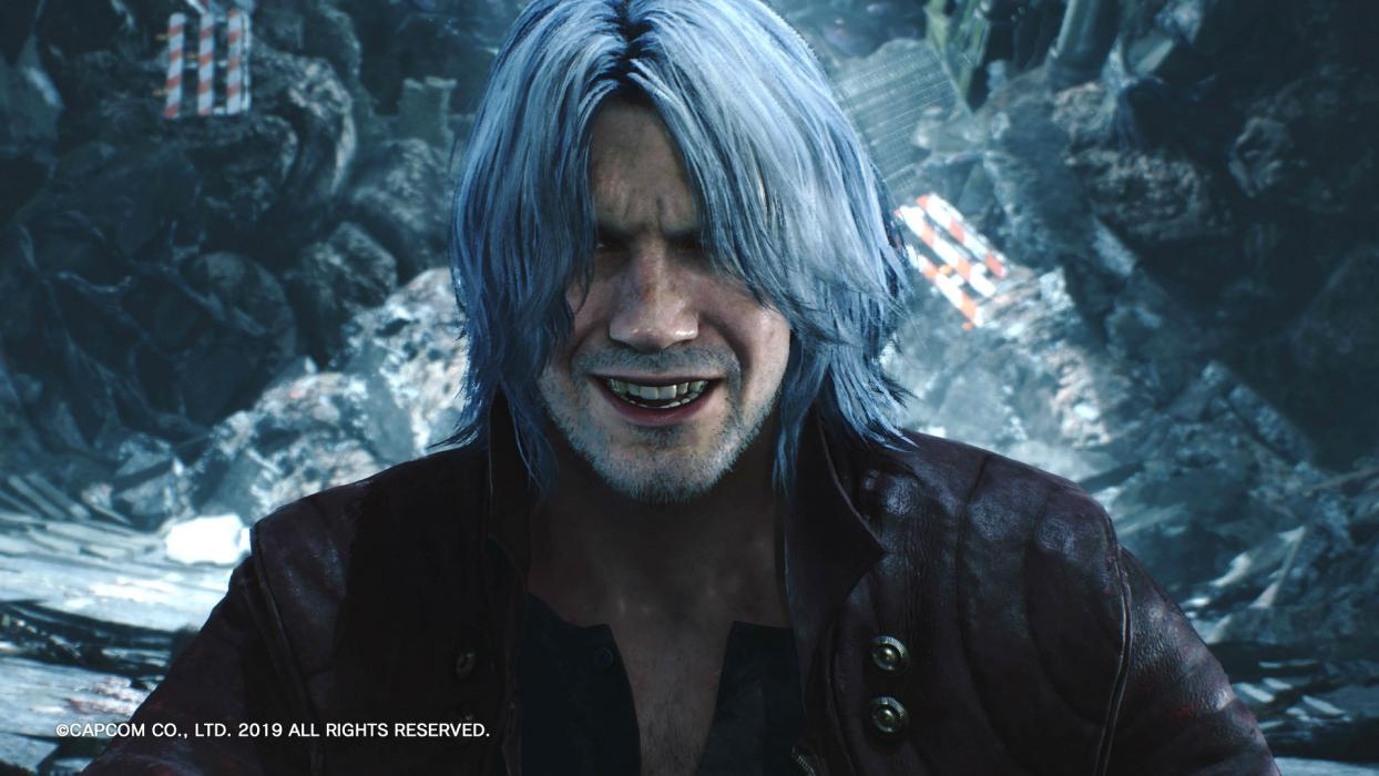Devil May Cry 5 Dante arma secreta